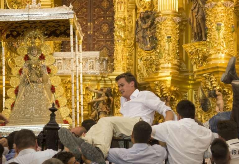 Virgen del Rocío 2017 peregrinación ermita Huelva