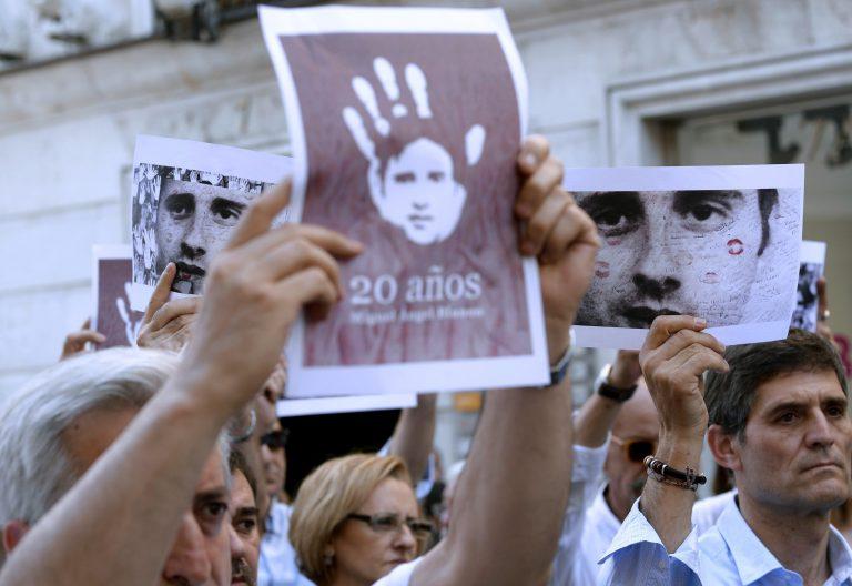 Homenaje por el 20 aniversario del fallecimiento de Miguel Ángel Blanco 2017 ETA