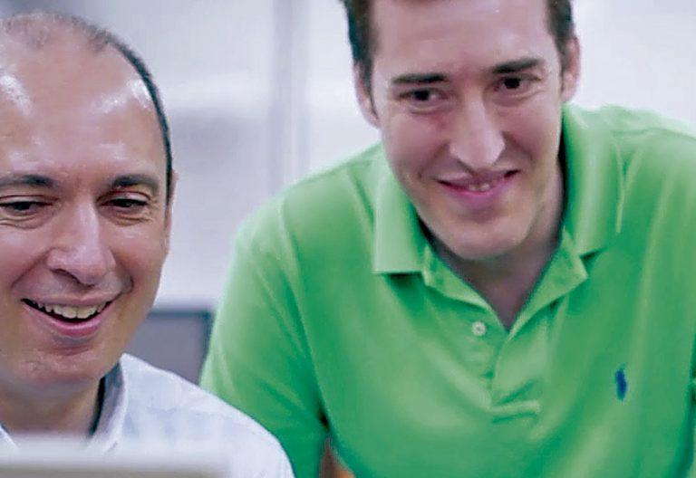 Javier Montaner y José Ángel Jiménez ingenieros españoles creadores de Mouse4all