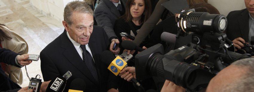 Joaquín Navarro-Valls, español laico exportavoz de la Santa Sede fallecido julio 2017