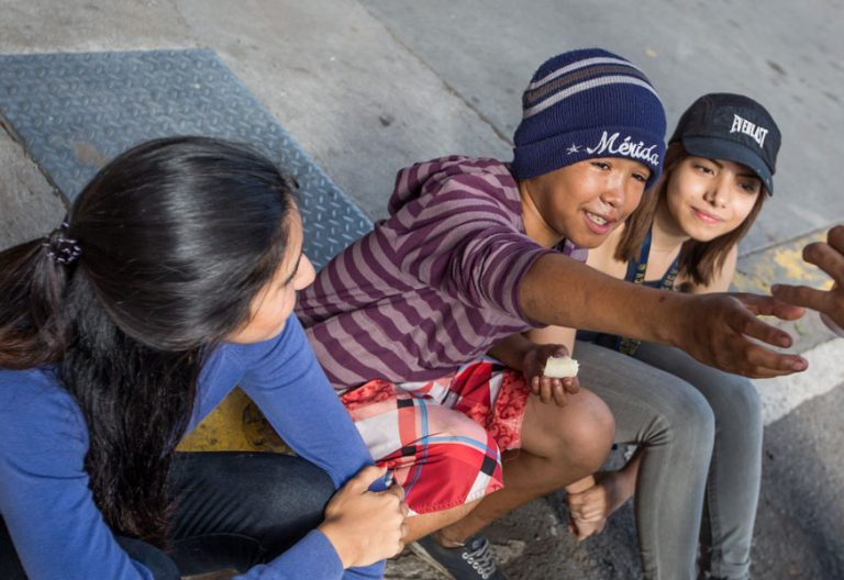 Jóvenes en Perú
