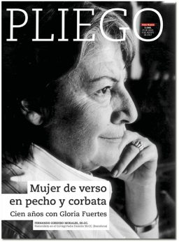 portada Pliego Gloria Fuertes 3046 julio 2017