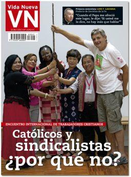 portada Vida Nueva Trabajadores cristianos 3045 julio 2017