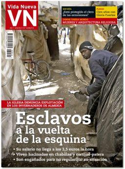portada Vida Nueva Esclavos invernaderos Almería 3046 julio 2017
