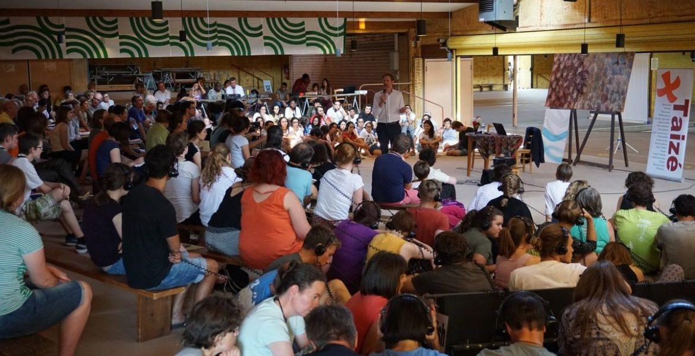 Taizé ha acogido un foro europeo de jóvenes sobre la crisis migratoria/TAIZÉ