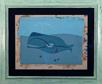 la ballena de Jonás, cuadro de Charlie Harper