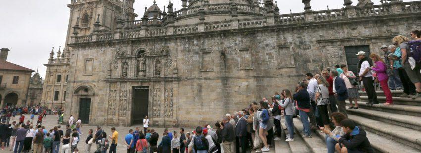 catedral de Santiago Compostela Plaza de A Quintana
