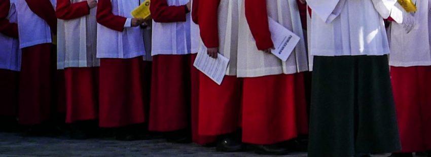 Niños del coro de Ratisbona (Alemania) en una imagen de archivo
