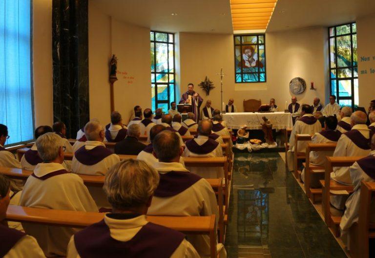 Capilla de la curia general de los salesianos en Roma