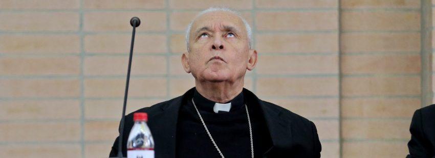 El presidente de la Conferencia Episcopal de Venezuela, Diego Padrón/EFE