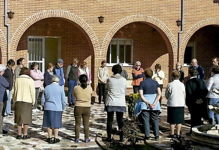 ejercicios espirituales vegetarianos carmelitas misioneras en Ávila