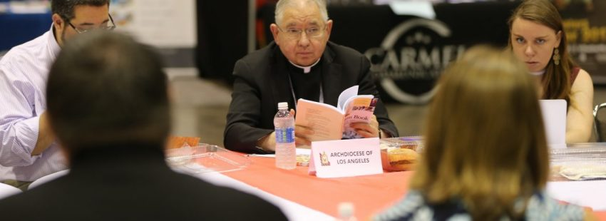 El arzobispo de Los Ángeles, José H. Gómez, en la Asamblea de Líderes Católicos en Orlando/CNS