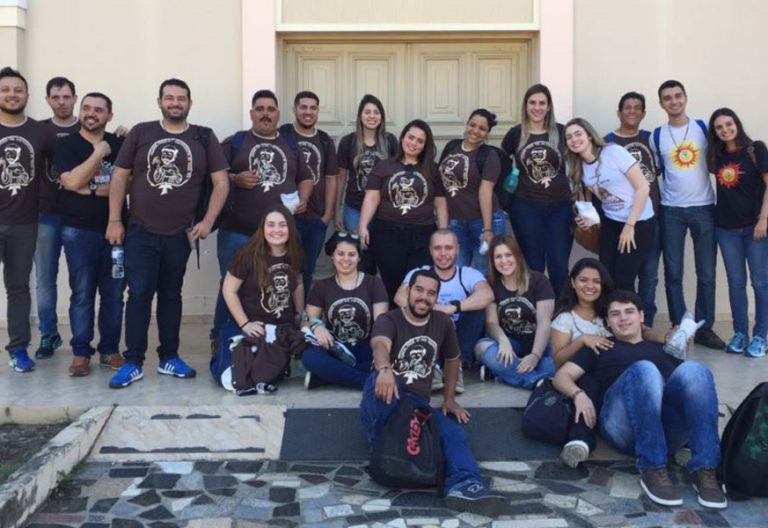 jóvenes misioneros semana misionera promovida por la Iglesia brasileña julio 2017