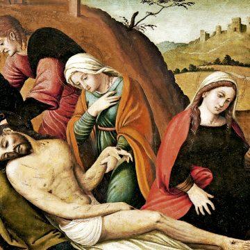 La Piedad, cuadro de Juan de Vitoria exposición Signum Caravaca de la Cruz Año Jubilar