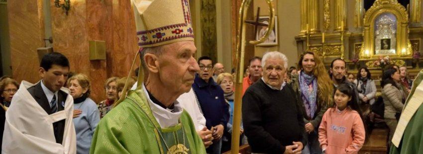 El prefecto de la Congregación para la Doctrina de la Fe, Luis Ladaria, en su visita a la diócesis argentina de Salta/SALTA