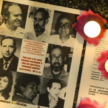 Documento homenaje a los jesuitas mártires de la UCA