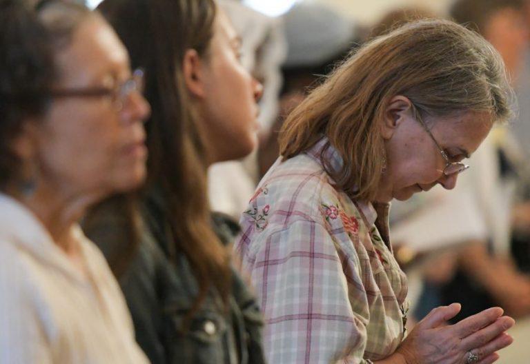 Un grupo de mujeres en una misa en Baltimore/CNS