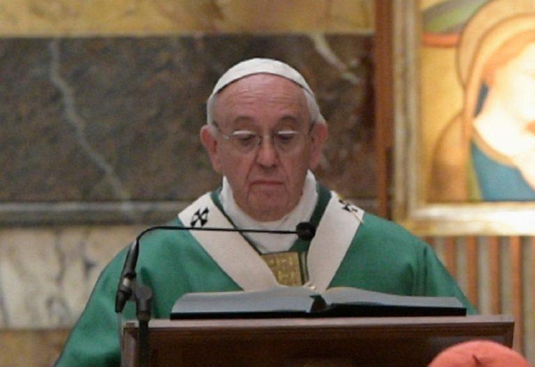 papa Francisco celebra misa Vaticano homilía