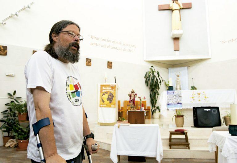 Agustín Rodríguez Teso, párroco de San Fermín Madrid