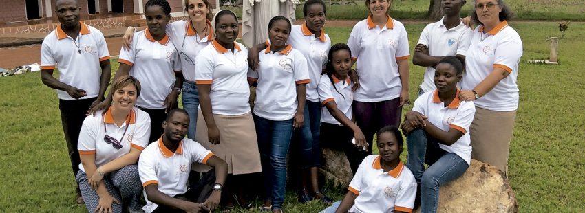 profesores de colegios vicencianos Hijas de la Caridad en Angola programa de intercambio