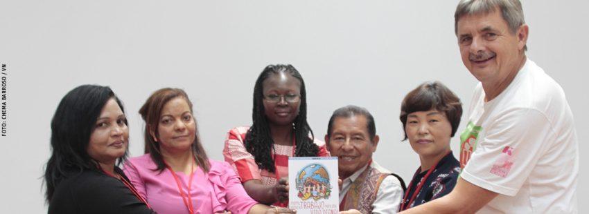 coordinadores de zona del Movimiento Mundial de Trabajadores Cristianos en Ávila julio 2017