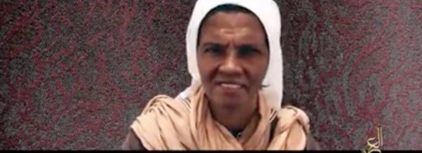 vídeo Gloria Cecilia Narváez monja colombiana secuestrada en Malí por Al Qaeda