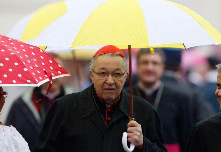 El cardenal arzobispo de Paris André Vingt-Trois, en Roma