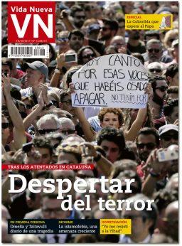 portada Vida Nueva Atentados en Cataluña 3048 septiembre 2017