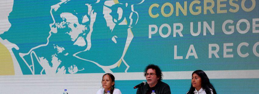 Pastor Alape, líder FARC durante congreso agosto 2017 para redefinir la organización