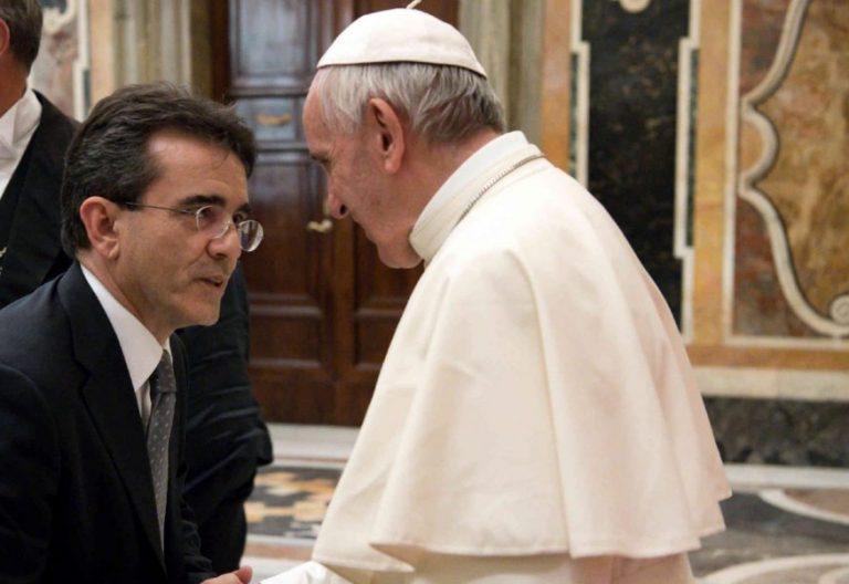 El Papa Francisco recibe al periodista Alfredo Somoza en el Vaticano/L'Osservatore Romano