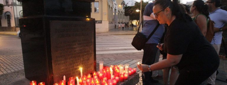 Una concentración en Melilla en repulsa del atentado de Barcelona/EFE