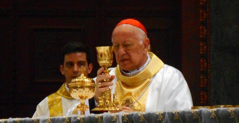 El cardenal Ezzati preside la eucaristía en la catedral de San Salvador con motivo del centenario del nacimiento de Óscar Romero