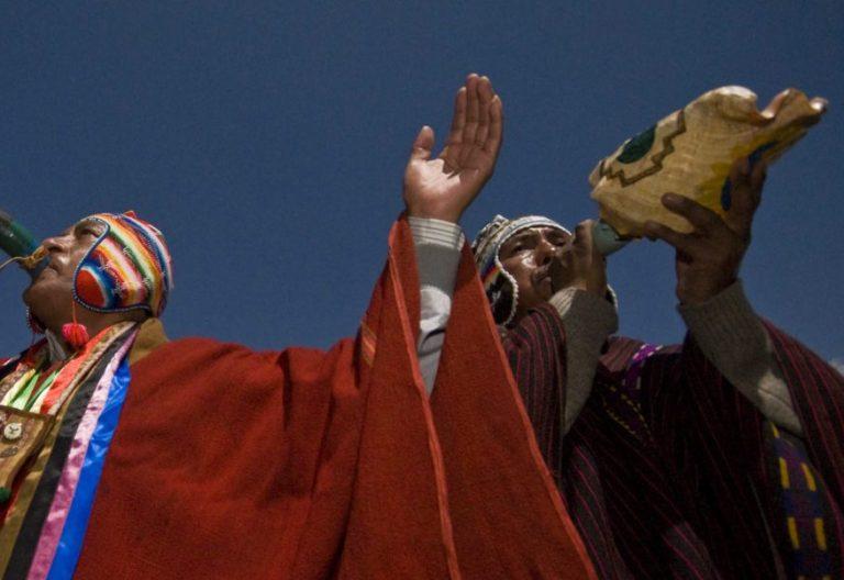 Indígenas en Bolivia/ EFE