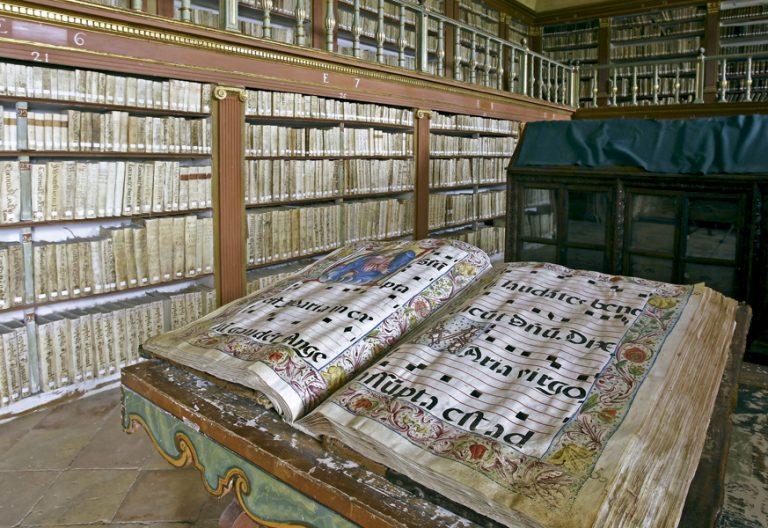 biblioteca monasterio Yuso San Millán de la Cogolla