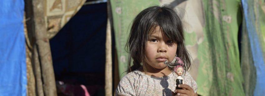 Una menor indígena de Villamontes,Bolivia/CNS