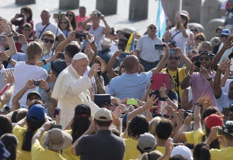 papa Francisco audiencia general 30 agosto 2017