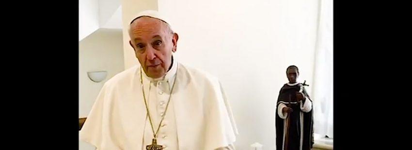 El papa Francisco envía un video-mensaje al pueblo peruano previo a su visita