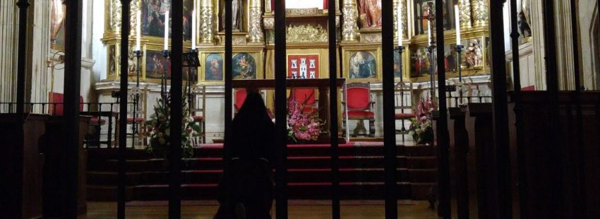 Religiosas contemplativas clarisas de Soria, en su convento