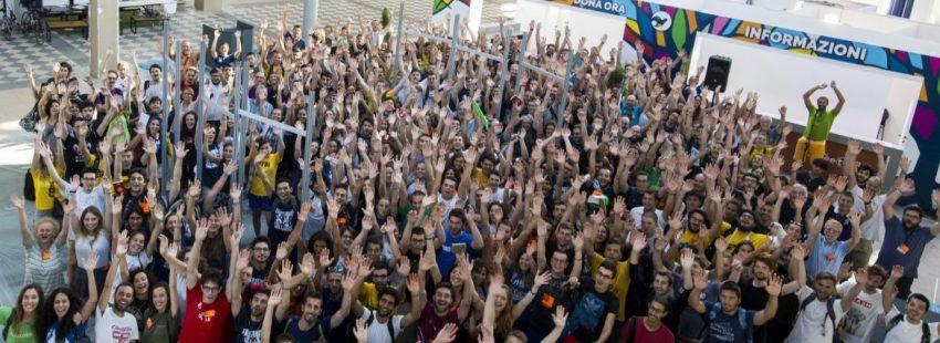 Voluntarios de Meeting Rimini 2017 organizado por Comunión y Liberación/CYL