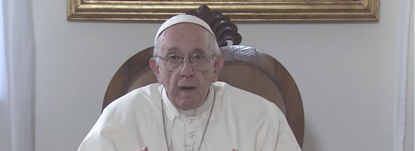 El Papa pide en su vídeo mensual rezar por los artistas agosto 2017