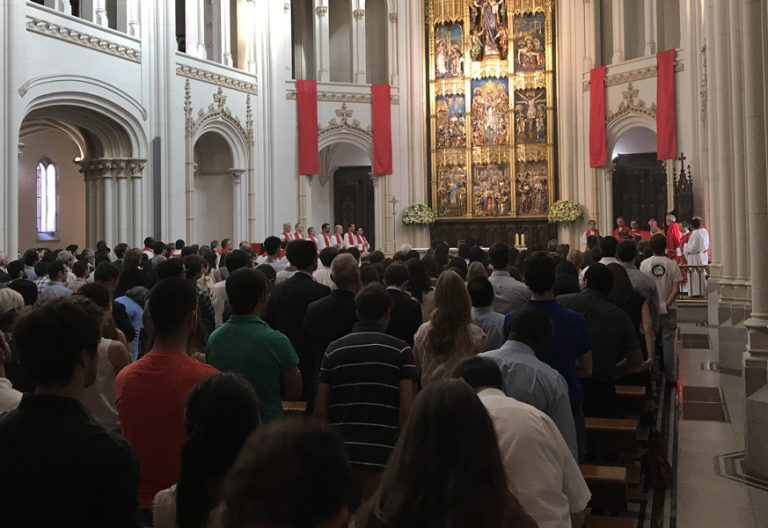 Universidad Pontificia Comillas en Madrid acto académico de apertura de curso 2017-2018 6 septiembre 2017