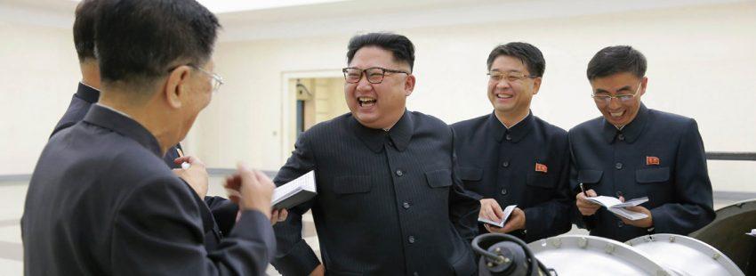 Kim Jong-un prueba con éxito una bomba de hidrógeno en Corea del Norte