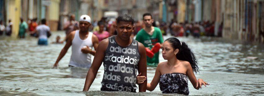 Inundaciones en Cuba tras el paso del huracán Irma