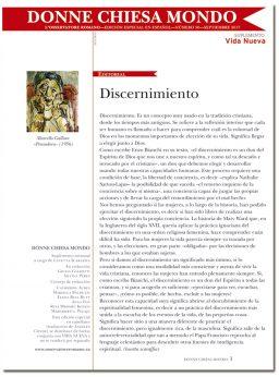 portada Donne Chiesa Mondo suplemento septiembre 2017 numero 28 Discernimiento