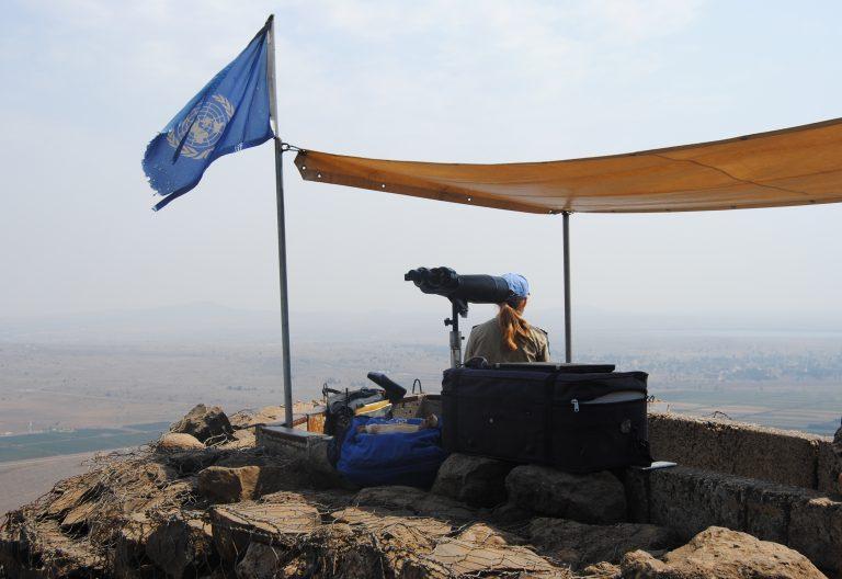 El Punto de Observación de la ONU en los Altos del Golán, a tan solo 60 kilómetros de Damasco