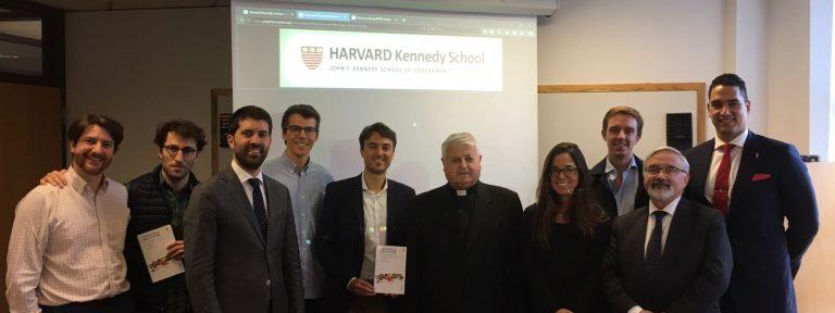 El padre Lezama en la Universidad de Harvard