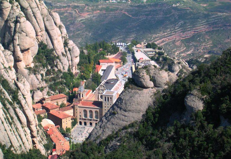 El monasterio de Montserrat, en Barcelona