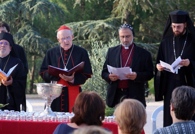 El arzobispo de Madrid, Carlos Osoro, en la oración ecuménica de Jornada por el Cuidado de la Creación 2017/Infomadrid