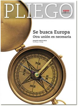 portada Pliego Se busca Europa 3049 septiembre 2017