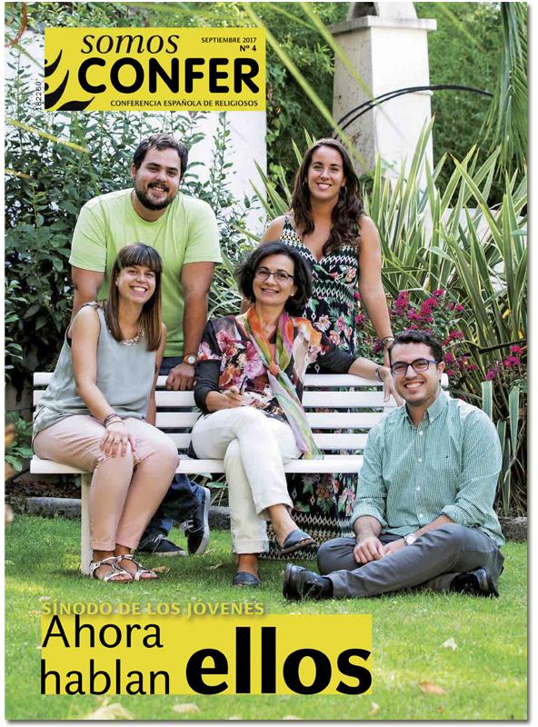 portada Somos Confer 4 pastoral con jóvenes a un año del Sínodo 3052 septiembre 2017